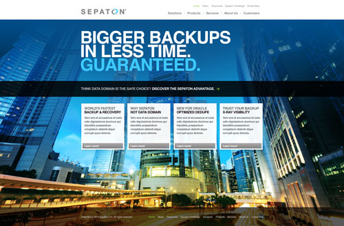 Sepaton: Enterprise Data Backup and Recovery